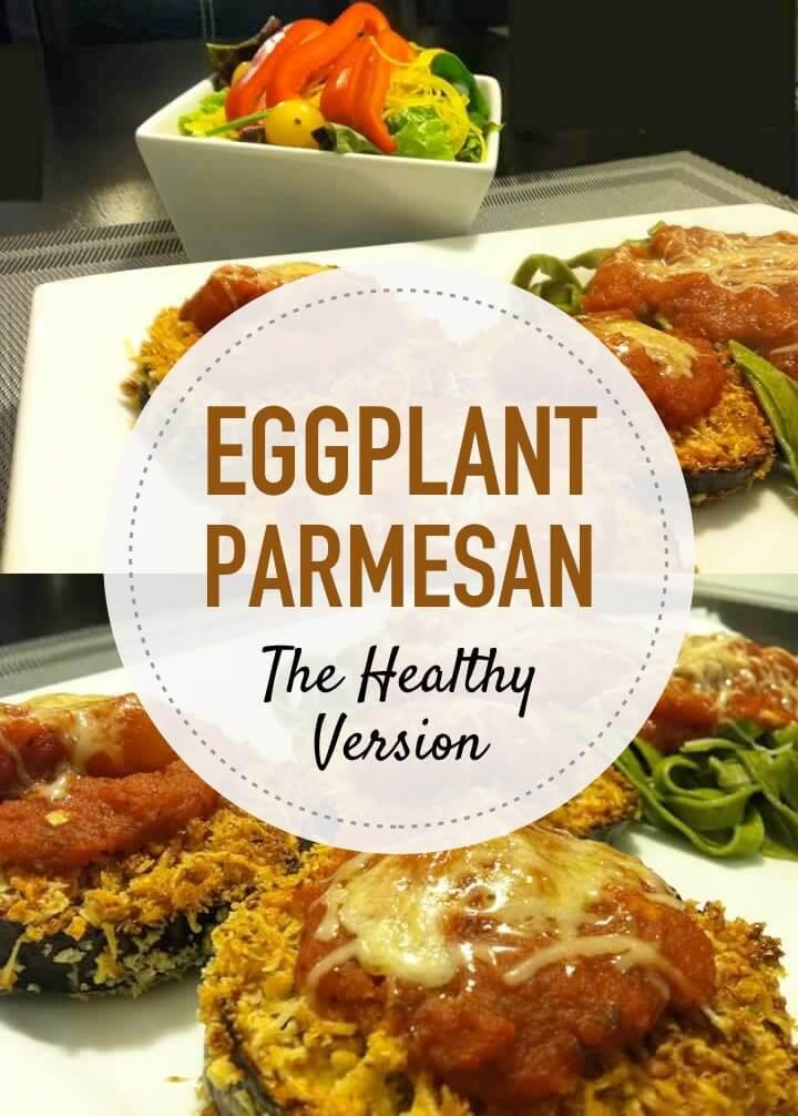 Delicious Eggplant Parmesan Minus 470 Calories
