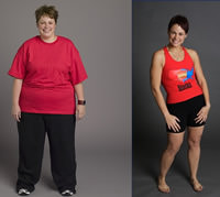 All the contestants of the biggest loser