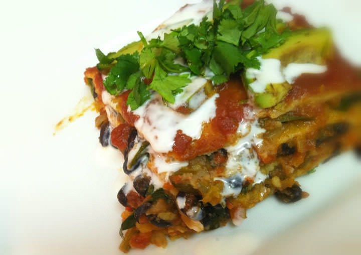 vegetarian-enchilada-pie