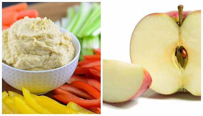 hummus-apple