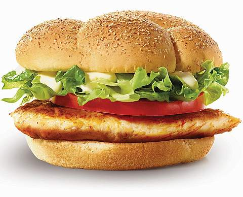 McGrilled Chicken Burger