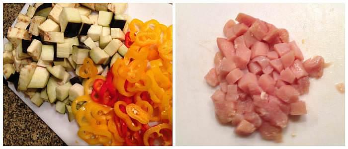 eggplent-peppers-chicken