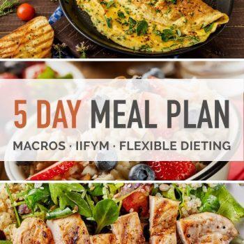 sample macro diet meal plan
