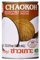 chaokoh canned coconut
