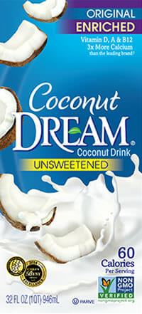 coconut dream unsweetened