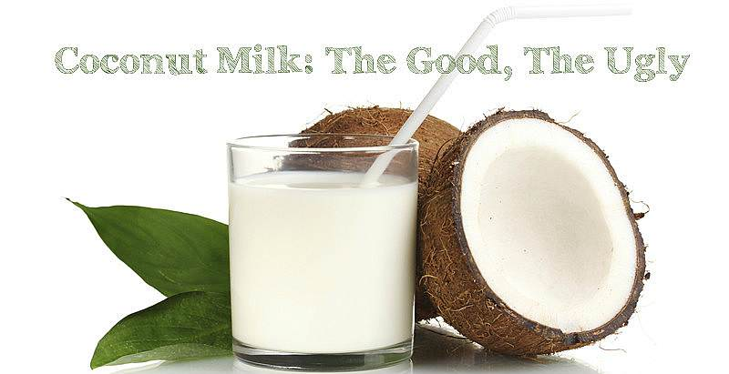 coconut milk: the good the ugly