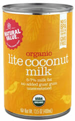 natural value coconut milk canned