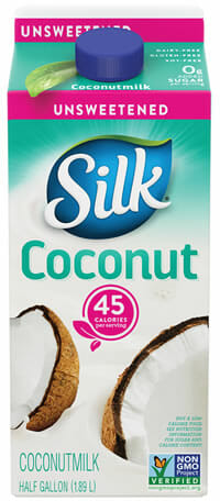 silk coconut milk unsweetened