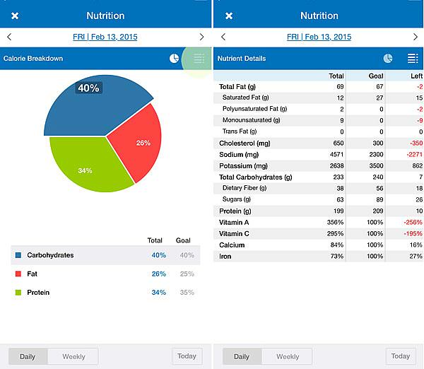 how to track your macros to lose weight