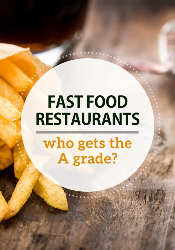 The Healthiest Fast Food Restaurants And The Not So Healthy