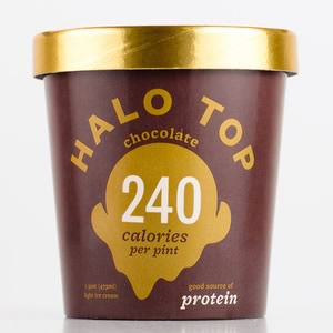 Halo Top Chocolate Ice Cream