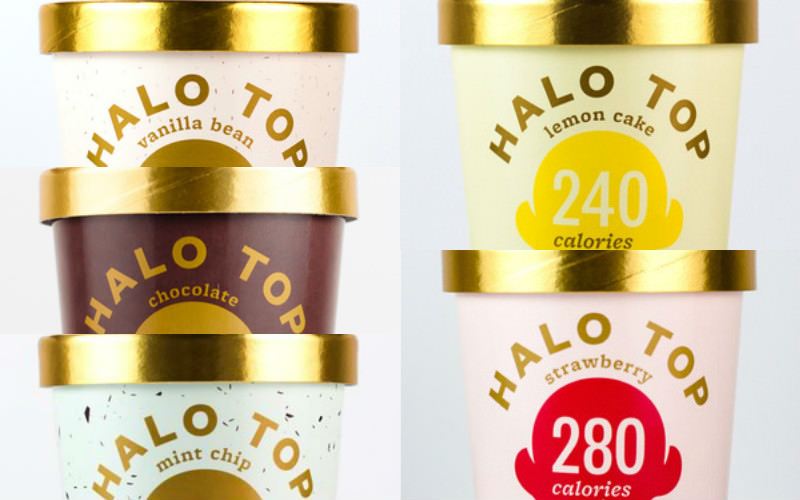 High Protein Low Sugar Ice Cream Halo Top