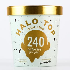Mint Chip Ice Cream Halo Top