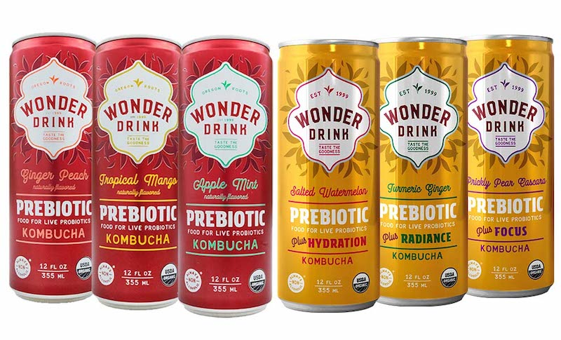 wonder drink prebiotic kombucha