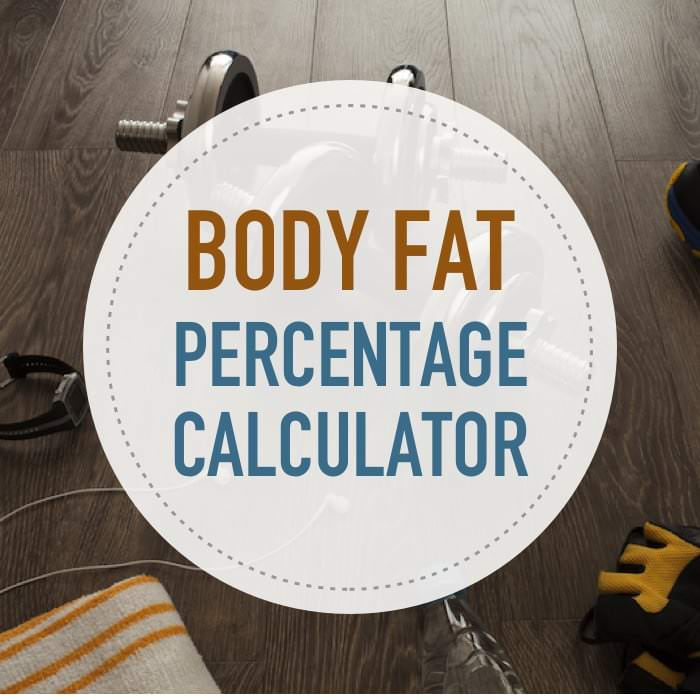 How to calculate my body fat percentage