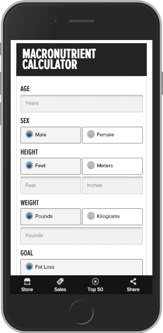 A simple keto macro calculator to get you started on your journey.