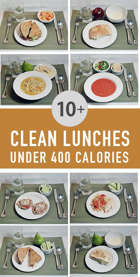 10 Lunches For Under 400 Calories
