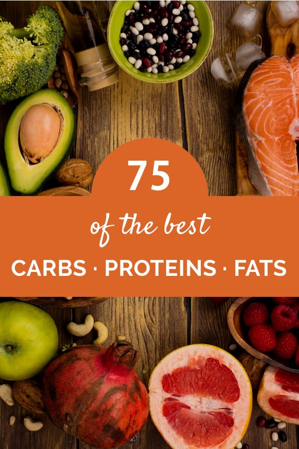 Top 15 Healthy Carb Protein And Fat Rich Foods