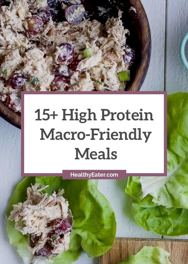 Macro Friendly 15 Delicious High Protein Meals