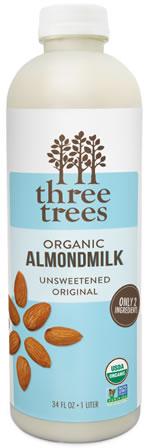 three trees almond milk