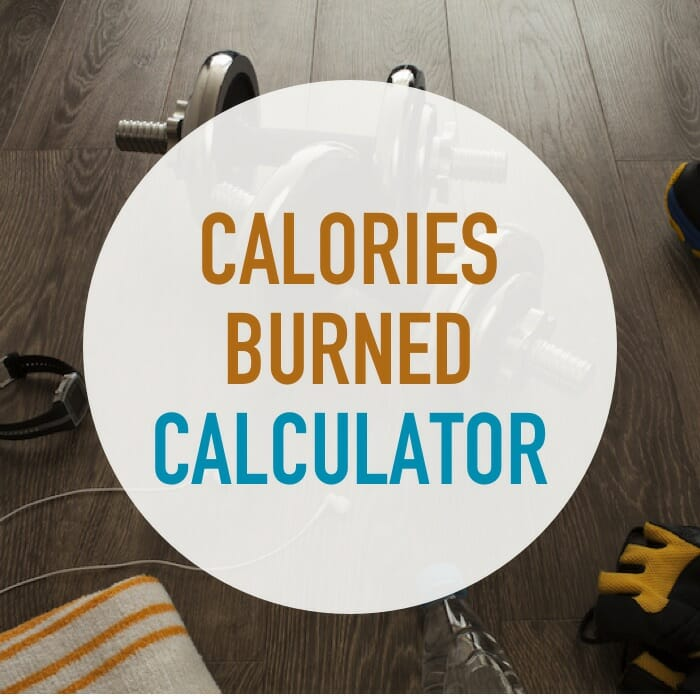 calories burned during exercise calculator