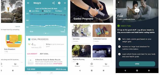 fitbit macro tracking app
