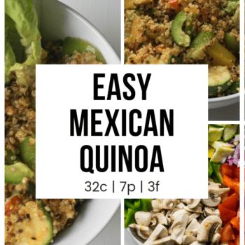 Easy Mexican Quinoa