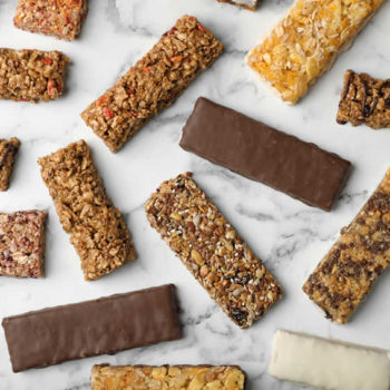 Healthy snack bars and the not so healthy