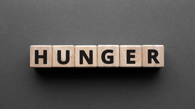 hunger vs. starving