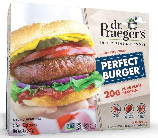 dr praeger's meatless burger
