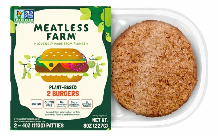 meatless farm co plant burger