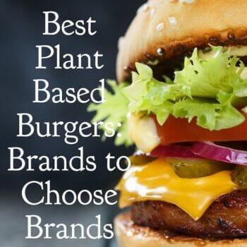 plant based burger brands