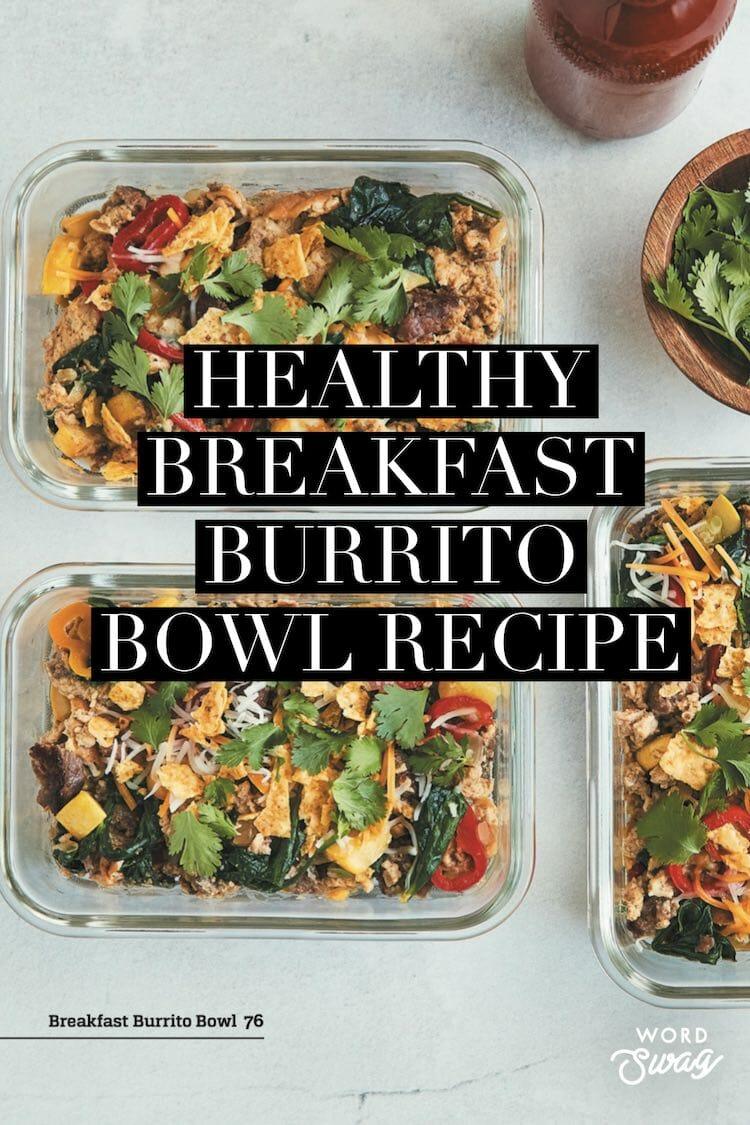 breakfast burrito bowl recipe